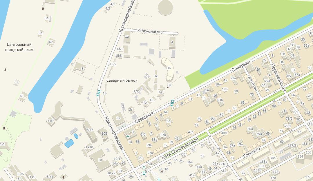 «Крепость» на карте